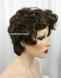 Carol Wig . RIZZO FROM GREASE STYLE Chestnut Brown 842f019cdfbf